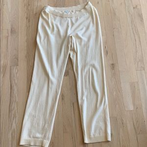 Chico's Light yellow knit pants